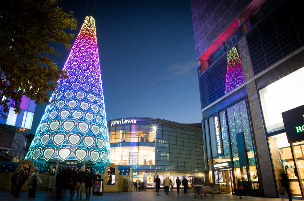 PR; Commercial photography Liverpool One
